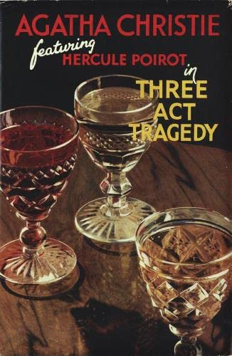 9780007234417: Three Act Tragedy