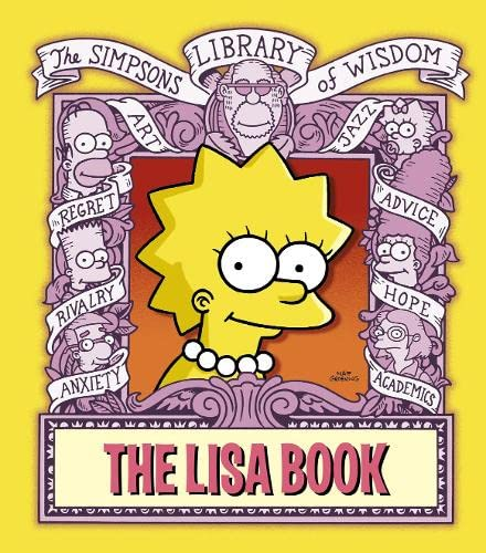 9780007234578: The Lisa Book (The Simpsons Library of Wisdom)