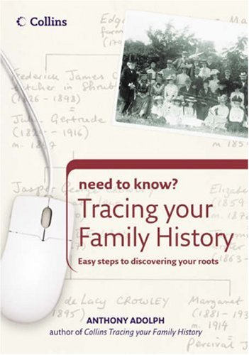 9780007235452: Tracing Your Family History (Collins Need to Know?)