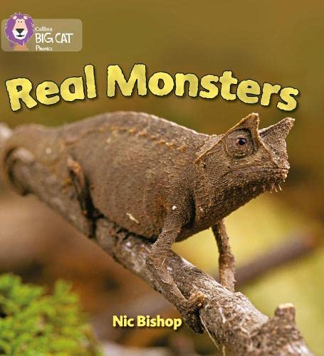 9780007235988: Collins Big Cat Phonics - Real Monsters: Band 03/Yellow: Yellow/Band 3