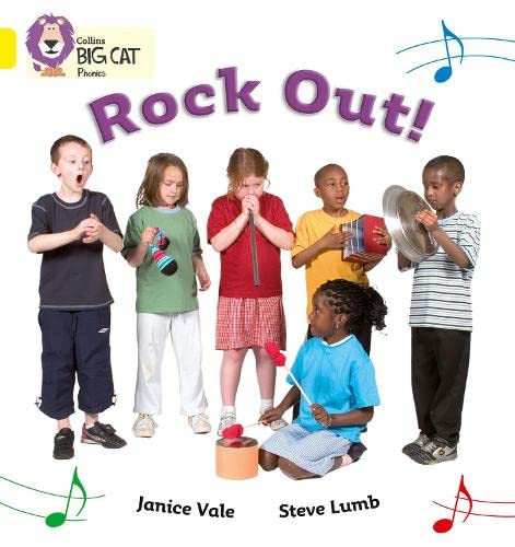9780007235995: Collins Big Cat Phonics - Rock Out: Band 03/Yellow: Yellow/Band 3