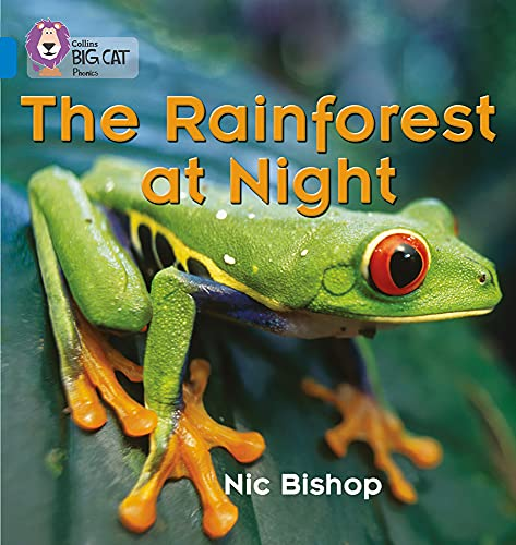 9780007236053: Collins Big Cat Phonics - The Rainforest at Night: Band 04/Blue: Blue/Band 4