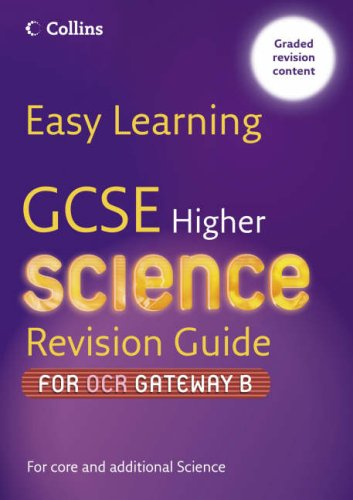 9780007236688: GCSE Science Revision Guide for OCR Gateway Science B: Higher (Easy Learning)