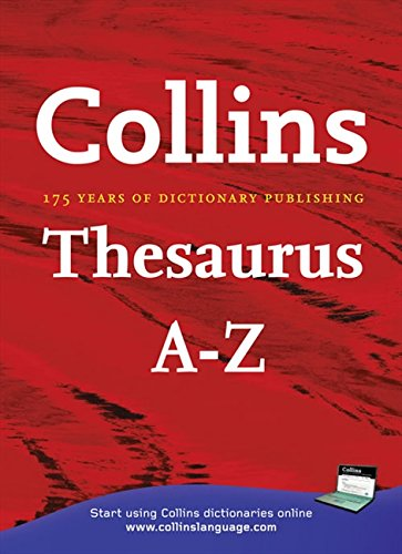9780007237005: Collins Thesaurus A?Z Home Edition