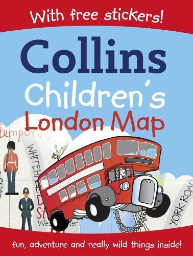 9780007237326: Collins Children's London Map