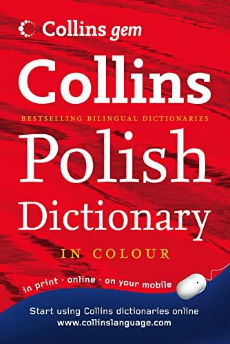 9780007240012: Polish Dictionary (Collins GEM) (English and Polish Edition)