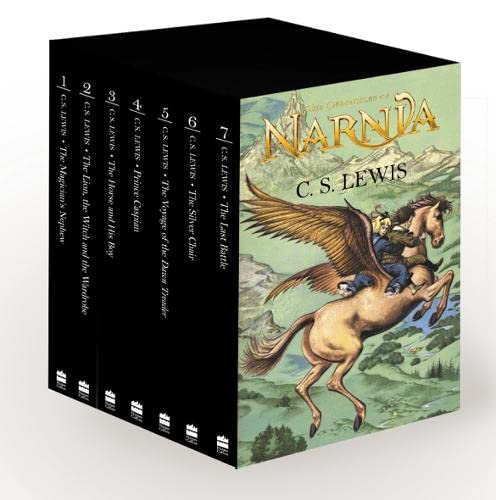 9780007241347: The Complete Chronicles of Narnia Hardback Box Set (The Chronicles of Narnia)
