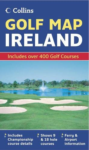 9780007241514: Golf Map of Ireland (Collins Maps)