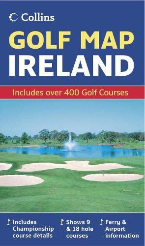 9780007241514: Golf Map Ireland
