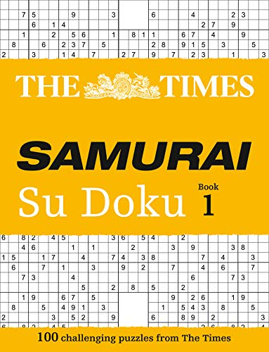 9780007241651: The Times Samurai Su Doku