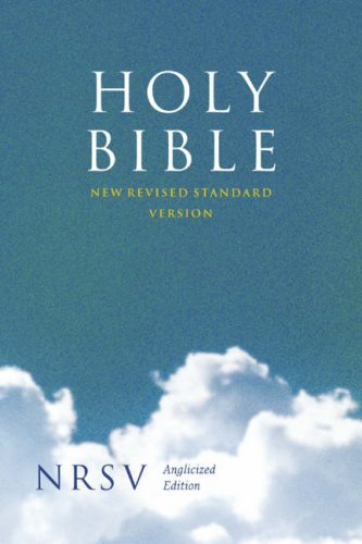9780007242436: Holy Bible: New Revised Standard Version (NRSV) Anglicised (Bible Nrsv)