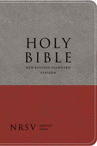 9780007242450: Holy Bible: New Revised Standard Version (NRSV) Anglicised (Bible Nrsv)
