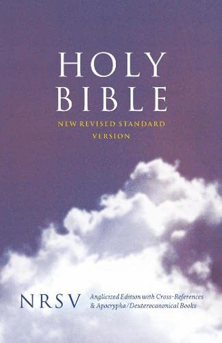 9780007242863: Holy Bible: New Revised Standard Version (NRSV) Anglicised Cross-Reference Edition with Apocrypha