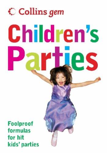 9780007243532: Children's Parties (Collins Gem)