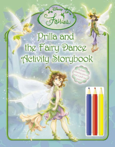 9780007243716: Disney Fairies - Prilla and the Fairy Dance Activity Storybook