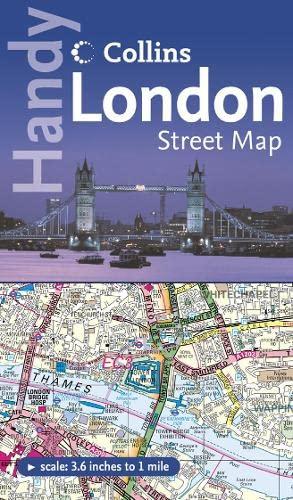 9780007243730: Handy London Street Map