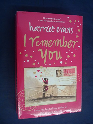 9780007243860: I Remember You