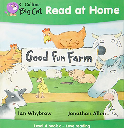 9780007244522: Collins Big Cat Read at Home - Good Fun Farm: Level 4 book c - Love reading