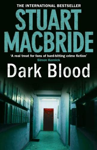 DARK BLOOD - THE 6TH DS LOGAN McRAE CRIME MYSTERY - SIGNED & STAMPED WITH SKULL AND CROSSBONES FI...