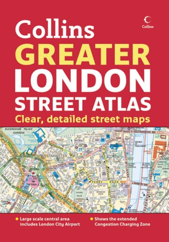 9780007244829: Collins Greater London Street Atlas
