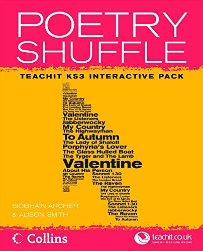 9780007245789: Poetry Shuffle Pack KS3