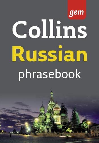 9780007246830: Collins Russian Phrasebook: The Right Word in Your Pocket (Collins Gem)
