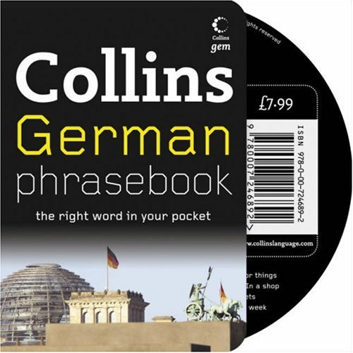 9780007246892: Collins Gem – German Phrasebook and CD Pack