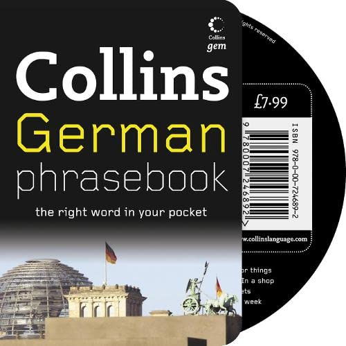 9780007246892: Collins German Phrasebook CD Pack: The Right Word in Your Pocket (Collins Gem)