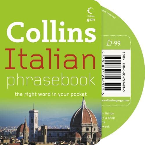 9780007246915: Collins Gem - Italian Phrasebook and CD Pack
