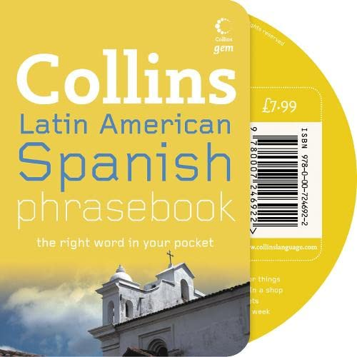 9780007246922: Collins Latin American Spanish Phrasebook CD Pack: The Right Word in Your Pocket (Collins Gem)