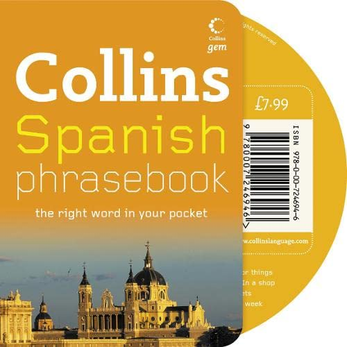 9780007246946: Collins Spanish Phrasebook CD Pack: The Right Word in Your Pocket (Collins Gem)