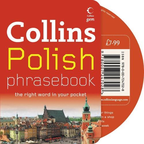 9780007247028: Collins Polish Phrasebook and CD: The Right Word in Your Pocket (Collins Gem)