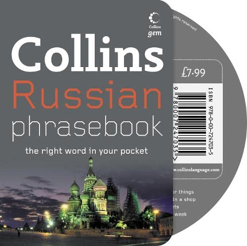 9780007247035: Collins Gem - Russian Phrasebook and CD Pack