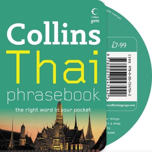 9780007247042: Collins Thai Phrasebook CD Pack: The Right Word in Your Pocket (Collins Gem)