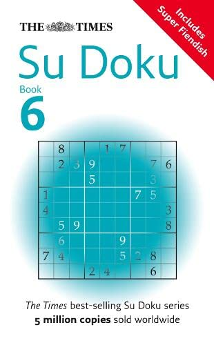 9780007247530: The Times Su Doku Book 6: Bk. 6