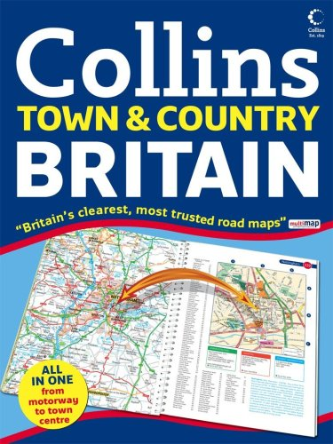 9780007247554: Britain Town and Country Atlas (Road Atlas)