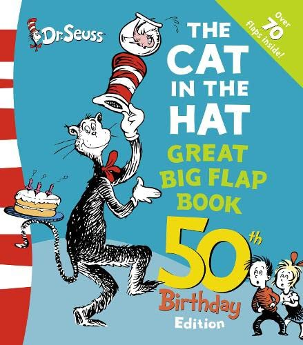9780007247875: The Cat in the Hat Great Big Flap Book (Dr Seuss 50th Birthday Edition)