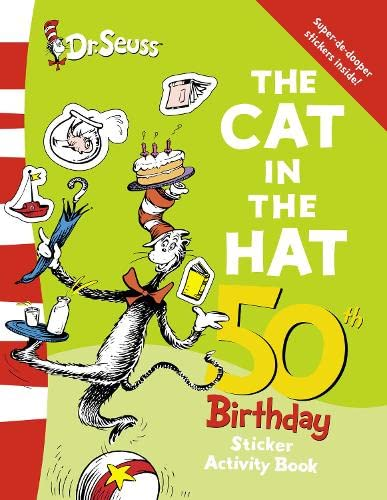 9780007247899: The Cat in the Hat Sticker Book (Dr Seuss 50th Birthday Edition)
