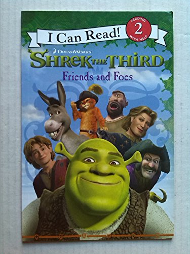 9780007248261: Shrek the Third: Friends and Foes (I Can Read Book 2)