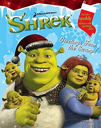 9780007248407: Shrek the Third - Greetings from the Swamp: Activity Book