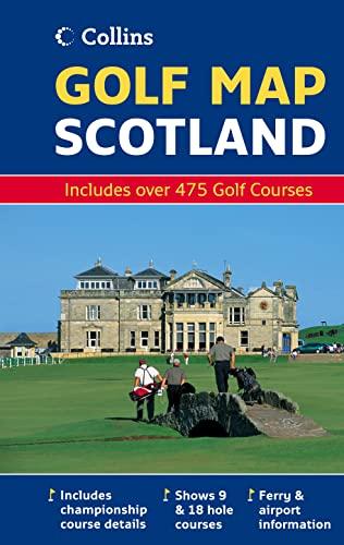 9780007250899: Golf Map of Scotland (Map)