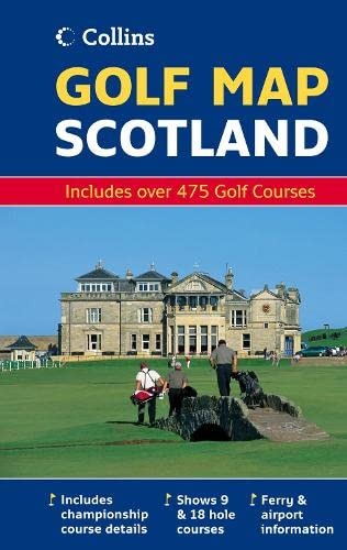 9780007250899: Golf Map of Scotland (Map)