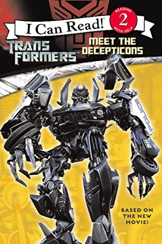 9780007251087: Transformers ? Meet the Decepticons: I Can Read! 2: v. 2