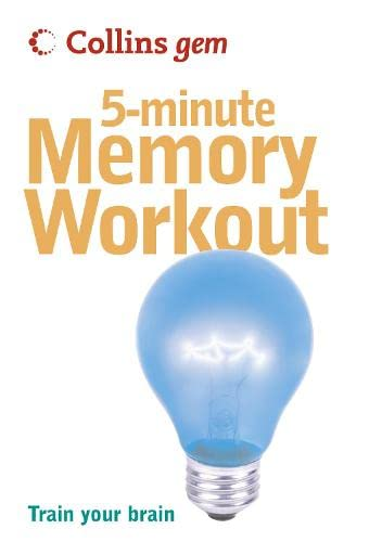 Collins Gem 5-Minute Memory Workout: Train Your: Sean Callery