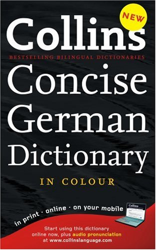 9780007252763: Collins German Dictionary (Collins Concise)
