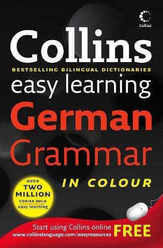 9780007252787: Collins Easy Learning German Grammar (Collins Easy Learning Dictionaries)