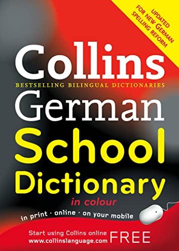 9780007252800: Collins German School Dictionary (Collins School) (German and English Edition)