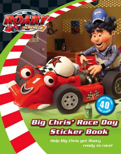 9780007253081: Roary the Racing Car - Big Chris's Big Race Day Sticker Storybook