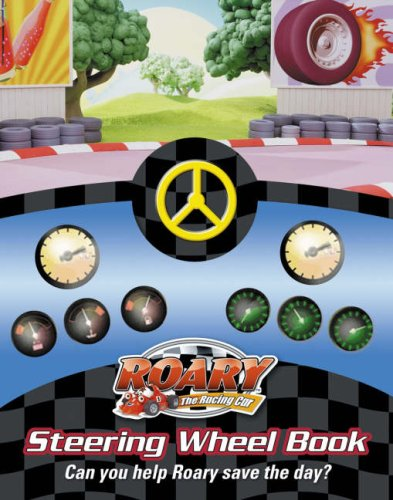 9780007253111: Roary the Racing Car - Roary to the Rescue Steering Wheel Book