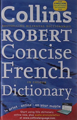 9780007253449: Collins Robert Concise French Dictionary